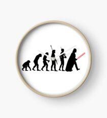 Darth Vader Evolution Clock