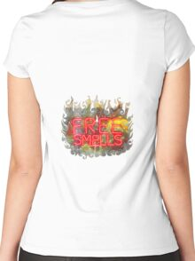 FREE SMELLS !!! Women's Fitted Scoop T-Shirt