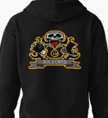 Full Throttle Polecats Retro Pixel DOS game fan shirt Pullover Hoodie