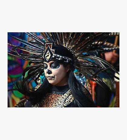 Dia do Los Muertos Dancer Photographic Print