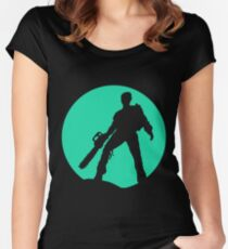 Chainswah Horror Remedy Women's Fitted Scoop T-Shirt