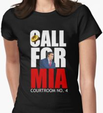 Call for Mia Womens Fitted T-Shirt