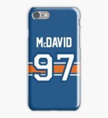 Connor McDavid - BLUE iPhone Case/Skin