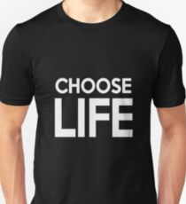 Choose Life: George Michael [black] T-Shirt