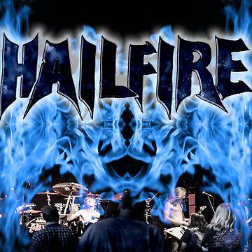 Hailfire Blue Fire, Black Ice by mattwestpfahl