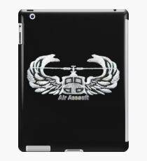 Air Assault Badge (2) iPad Case/Skin