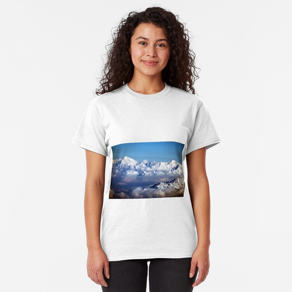 The Himalayas and Mount Everest Classic T-Shirt