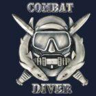 Combat Divers Emblem by Walter Colvin