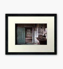 25.12.2016: In Abandoned House Framed Print