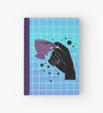 Mystic space coffee time Hardcover Journal