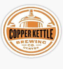 Copper Kettle Sticker
