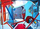 Abstract Interior #2 by Lisa V Robinson