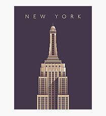 Empire State Building (Alt Vintage) Photographic Print