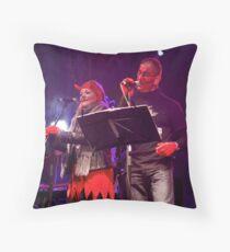 Live Music  - Haloween 2012, Derry  Throw Pillow