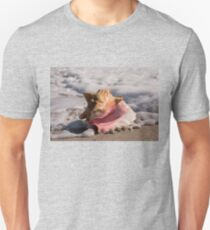 Pink Conch Shell Unisex T-Shirt