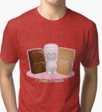 S'mores Buddies  Tri-blend T-Shirt
