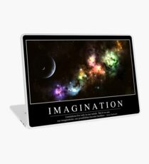 Imagination: Inspirational Quote and Motivational Poster Laptop Skin