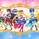 Rococo Sailor Moon Inner Senshi by aimeekitty