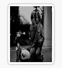 Keanu & River Sticker