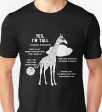 Tall People's Funny Small Talk T-Shirt