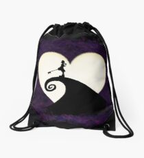 Halloween Moon Drawstring Bag