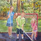 The Puck Stops Here by bevmorgan