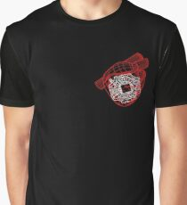 Digital Heart (Red) Graphic T-Shirt