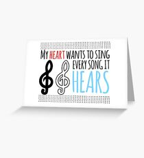 Sound of Music Greeting Card