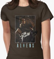 Aliens - Ripley & Newt Women's Fitted T-Shirt