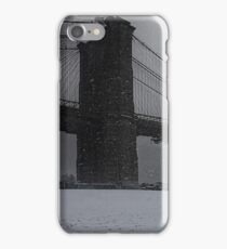 Brooklyn Bridge Blizzard iPhone Case/Skin
