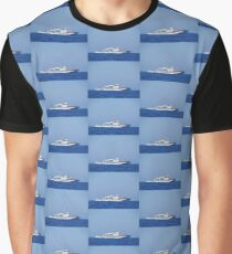 Coastguard Warship Graphic T-Shirt