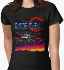 Super Contra (NES) Womens Fitted T-Shirt