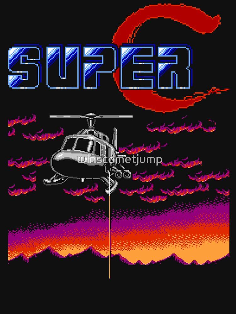 Super Contra (NES) de winscometjump