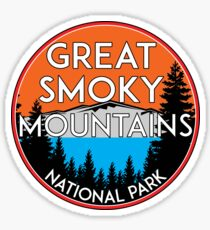 GREAT SMOKY MOUNTAINS NATIONAL PARK TENNESSEE NORTH CAROLINA GATLINBURG 5 Sticker