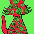 Citrus Puss by Anne van Alkemade