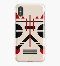 'Shades' - Abstract Geometric art with Constructivist inspirations iPhone Case/Skin