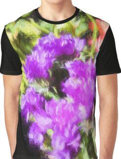 Impressionistic Floral Bouquet Graphic T-Shirt