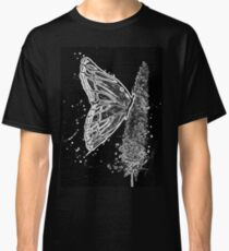 Black and White Butterfly Classic T-Shirt