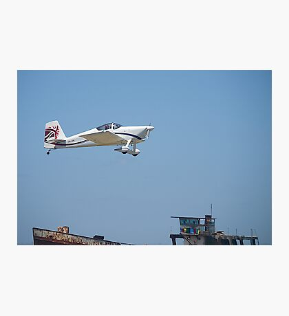 Off into the wide blue yonder. A  VAN RV-7, Tooradin Airport, Australia. Photographic Print