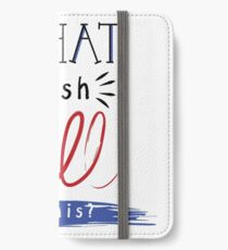 A New Development iPhone Wallet/Case/Skin