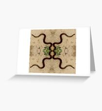 snakes Greeting Card