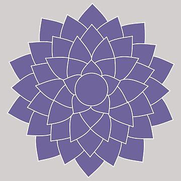Sahasrara - The Crown Chakra by annekulinski