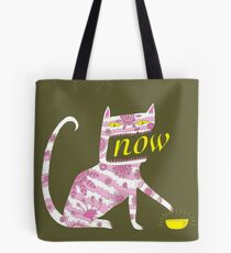 Now Cat Tote Bag