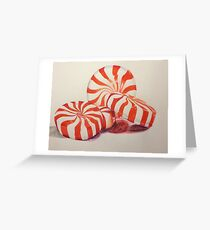 Peppermints Drawing Greeting Card