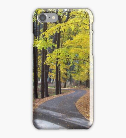 Autumn in the Forest iPhone Case/Skin