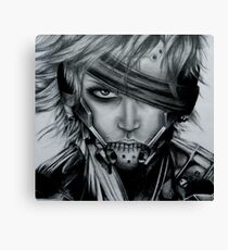 Raiden (Jack) Metal Gear Rising Canvas Print
