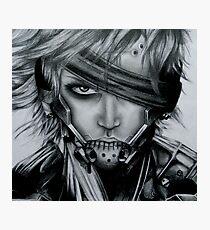 Raiden (Jack) Metal Gear Rising Photographic Print