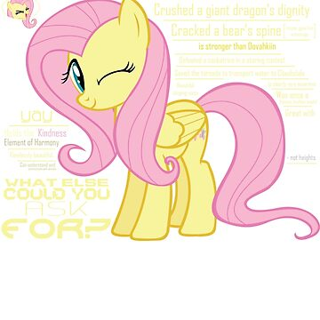 What else could anyone possibly ask for? (Fluttershy) by jblee22