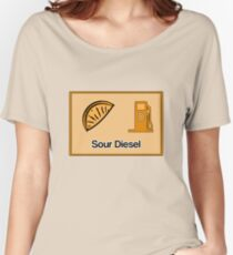 Sour Diesel Design  Women's Relaxed Fit T-Shirt