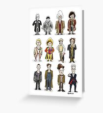 The 12 Doctors Greeting Card